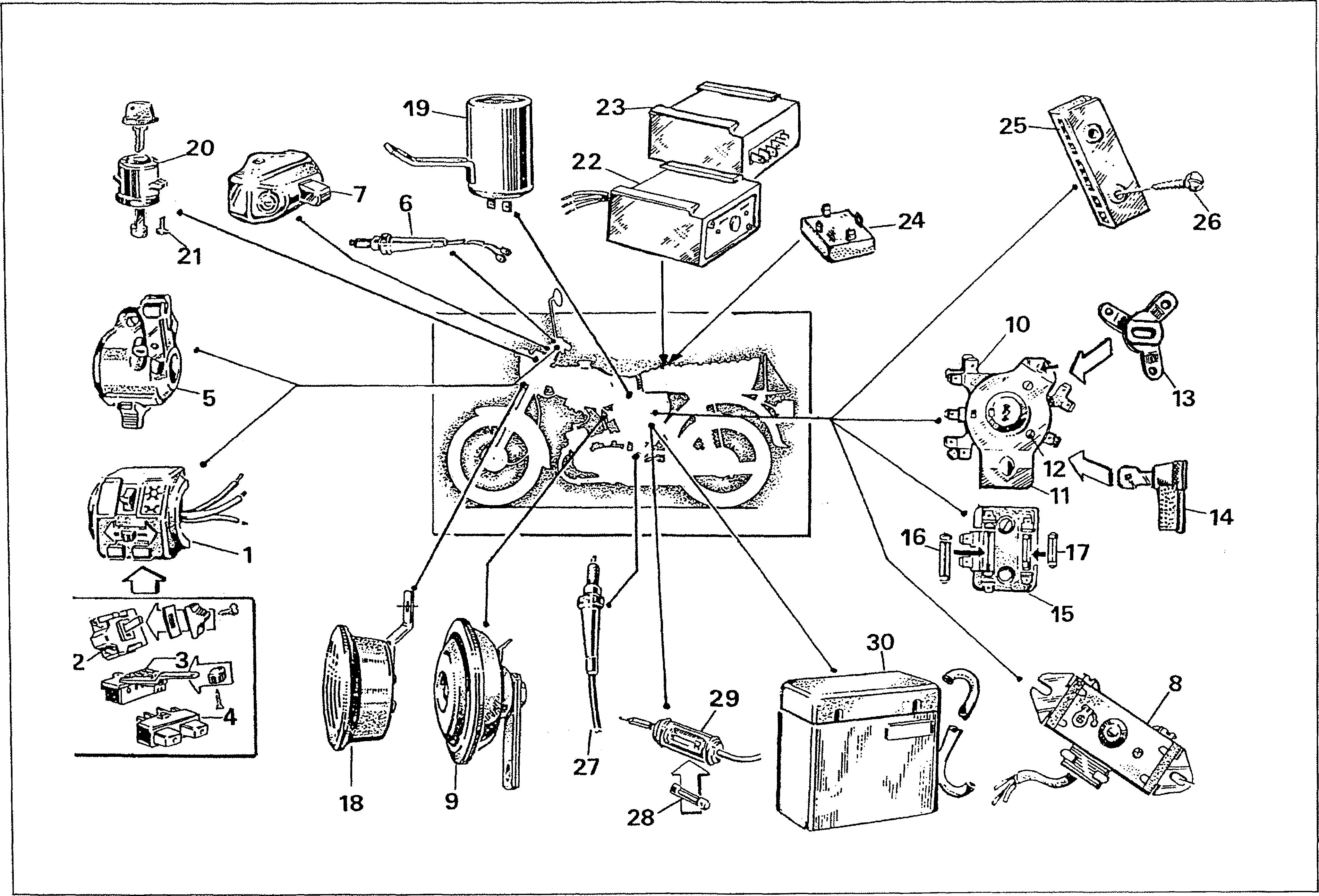Simson S51 - Elektrická výbava