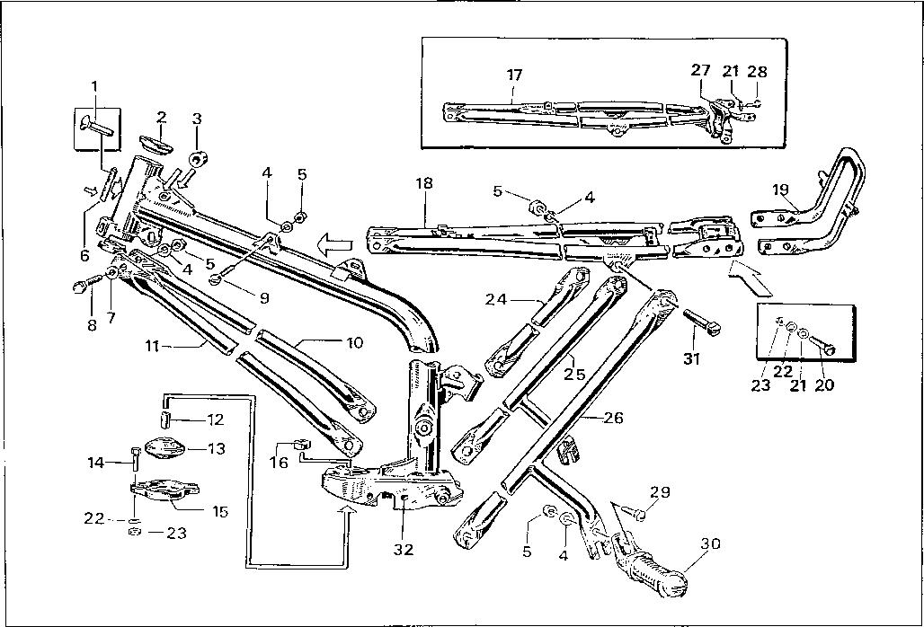 Simson S51 - Frame