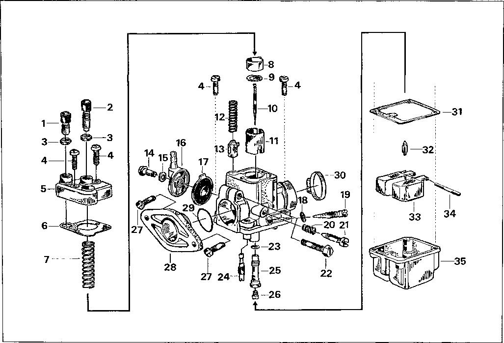 Simson S51 - Carburettor - type BING