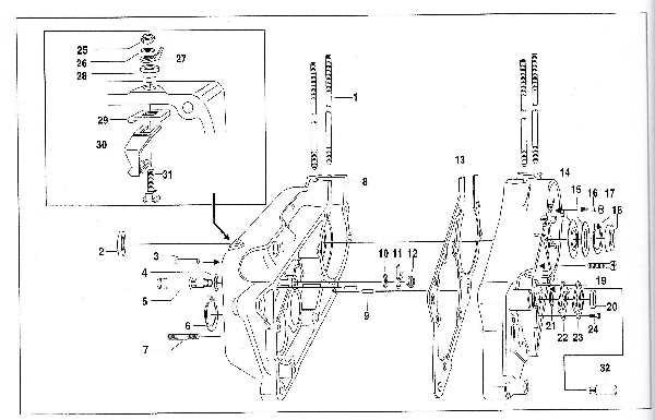 Simson SR50 - Motor und Motorgehäuse