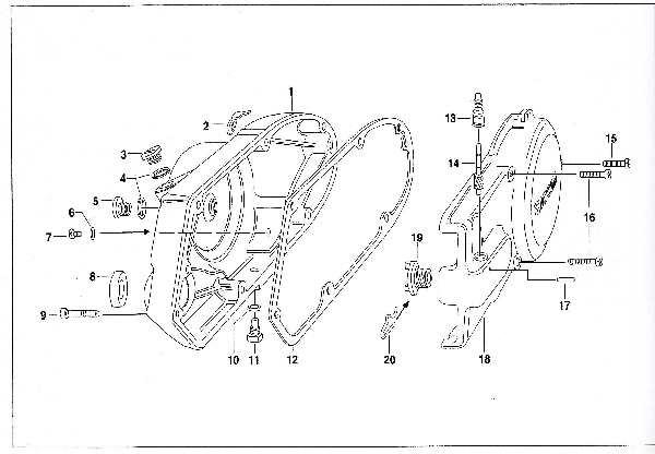 Simson SR50 - Gehäusedeckel