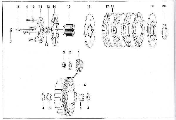 Simson SR50 - Primärtrieb und Kupplung