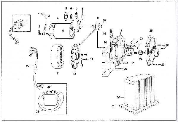 Simson SR50 - Elektrostarter