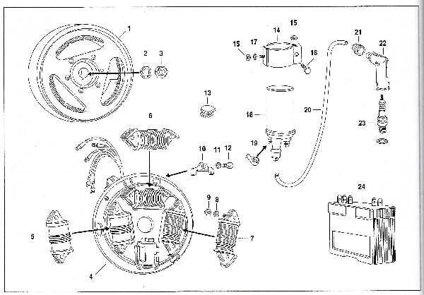 Simson SR50 - Elektronische Magnetzündanlage (EMZA)
