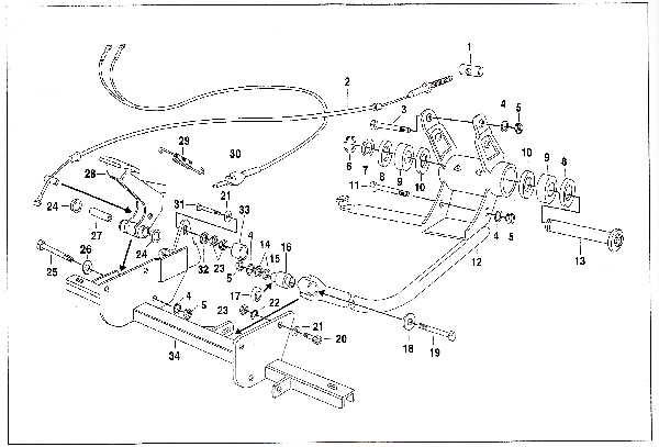 Simson SR50 - Motorlager und Querträger