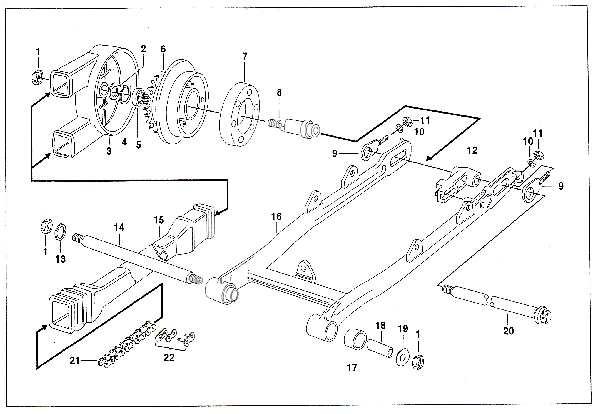 Simson SR50 - Hinterradantrieb