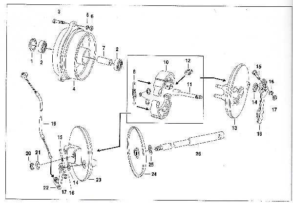 Simson SR50 - Trommelbremsen und Radnaben