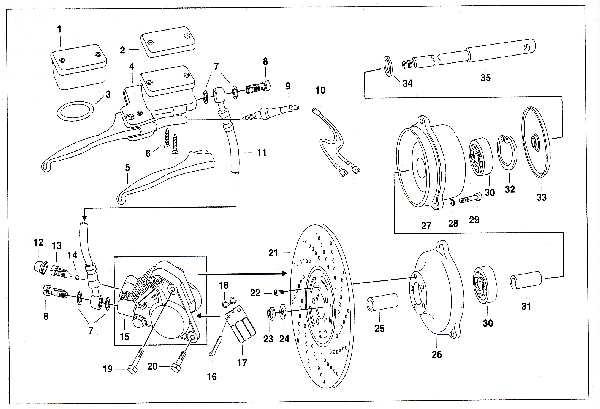 Simson SR50 - Scheibenbremse
