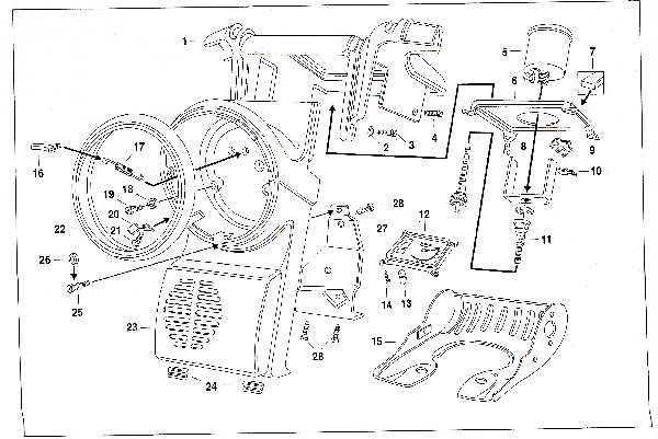 Simson SR50 - Armaturen- und Scheinwerfergehäuse