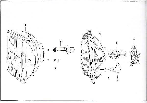 Simson SR50 - Scheinwerfer